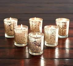pillar candle holders bulk glass tall votive beautiful mercury