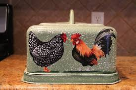 rooster kitchen accessories foods cover