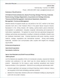 Best Executive Resume Format Best Resume Formats Free Samples