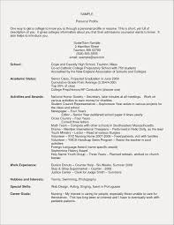 Resume Hobbies And Interest Examples Free Resume Examples