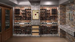 Cable Wine Systems Custom Wine Cellar