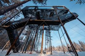 invisible tree house hotel. Seventh Room At Tree Hotel. Image By Johan Jansson / Mediadrumworld.com. \u201c Invisible House Hotel