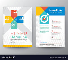 Brochure Flyer Graphic Design Layout Template