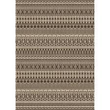 ruggable washable cadiz espresso 5 ft x 7 ft stain resistant area rug