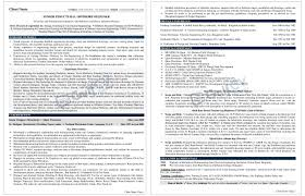 Senior Management Resume