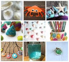 Fun Seashell Kids Crafts and Activities