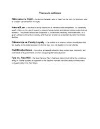 antigone civil disobedience essay in the play antigone by antigone themes