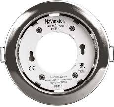 <b>Встраиваемый светильник Navigator</b> 71 279 NGX-R1-003-<b>GX53</b> ...