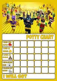 Lego Batman Reward Chart Teletubbies Potty Toilet Training Reward Chart Free Stars