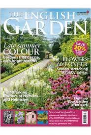 garden magazine.  Magazine English Garden Magazine For E