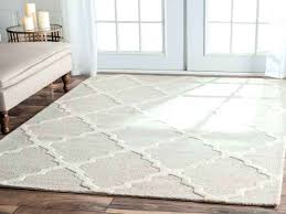 handmade trellis wool area rug 7 x 9 6 grey nuloom contemporary geometric abstract cobweb ivory