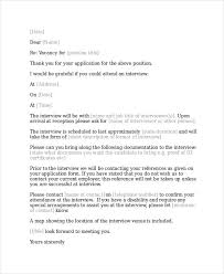 Interview Acknowledgement Letter Templates 5 Free Word Pdf