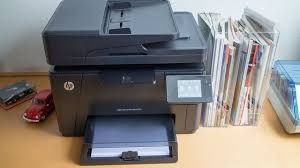 Unboxing Hp Color Laserjet Prof Mfp M177fw Youtube