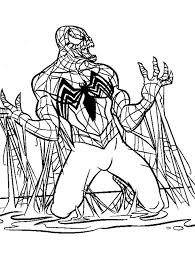Small Picture Spiderman Coloring Page Good Free Holiday Printable Spiderman