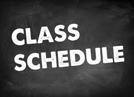 Class Schedules Black River Technical College