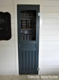 Homemade Screen Door Designs Diy Screen Door For The Pantry Domestic Imperfection