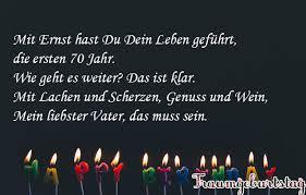 Lll Sprüche Zum 70 Geburtstag Witzig Kurz Und Schön Für