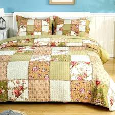 all cotton quilts stripes flowers and beautiful erflies adorn our reversible quilt comforter sets twin xl