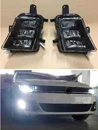 2015 Vw Gti Daytime Running Lights 2pcs Led Fog Lamp For Vw Golf 7 A7 Mk7 Gti Gtd 2013 2014