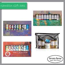 Gamblin Gift Introductory Sets 4 Different Sets 9 Colours 37ml Tubes