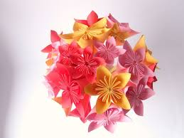 Paper Origami Flower Bouquet How To Make An Origami Flower Bouquet Easily With Straws And Paper