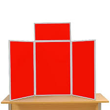 3 Panel Display Stand Impressive 32 Panel Maxi Desk Top Display Stand Boards Direct