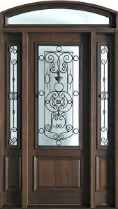 front door mahogany solid wood front door single with 2 sidelites single exterior door with blinds between glass single wood front doors with glass