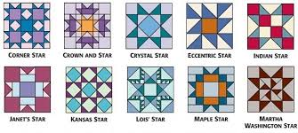 Star quilt-block patterns for an astronomical block challenge ... & 9-inch star blocks from 501 Rotary-Cut Quilt Blocks B Adamdwight.com