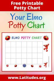 Free Elmo Potty Training Chart Acn Latitudes