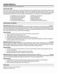 Resume For Food Server Resume Samples Restaurant Server Valid Professional Restaurant