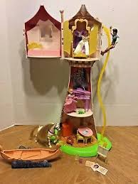 disney princess tangled rapunzel magical tower 20 castle toy playset mattel