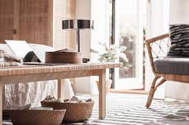The table surface in walnut veneer and legs in solid walnut give a warm, natural feeling to your room. Ikea Stockholm 2017 Collection House Of Hawkes
