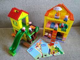 <b>Конструктор</b> свинка Пеппа дом Игровая площадка — купить в ...