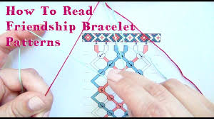 Friendship Bracelet Patterns Adorable How To Read Friendship Bracelet Patterns Tutorial YouTube