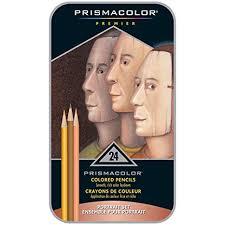 Sanford 25085r Prismacolor Premier Colored Pencils Portrait Set Soft Core 24 Count