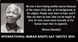 Human Rights Quotes Custom 48 Top Human Right Quotes And Sayings