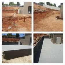 retaining walls adelaide concrete sleeper adelaide