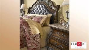 Pulaski Edwardian Bedroom Furniture Birkhaven Sleigh Bed Bedroom Set By Pulaski Furniture 991 Youtube