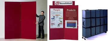 Free Standing Display Boards For Trade Shows Two Panel Partition Displays Large Display Boards 14