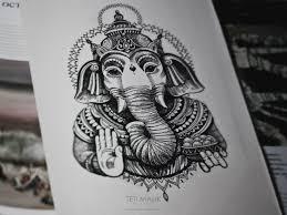 слон тату индия эскиз ганеша забей эскизы татуировок тату и
