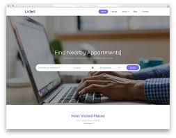 Free Web Application Design Templates 20 Free Responsive Business Website Template 2020 Uicookies
