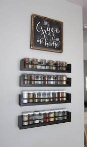 ... Small Changes Big Impact Edenware Hanging Spice Rack And Stackable Shelf  Design: Exciting ...