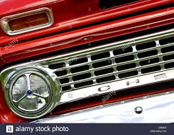 1960's Classic Chevrolet pickup truck front grill and headlight ...