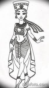 фото эскизы тату нефертити от 02102017 085 Sketches Of
