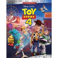 Toy Story 4 (Blu-Ray + DVD + Digital) : Target