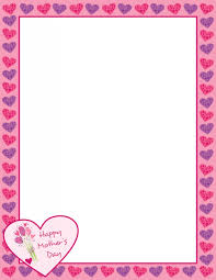 printable frame templates picture frame day printable photo frames borders templates intended