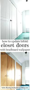 updating bifold closet doors bi fold to paneled french door closet makeover remodel ideas doors bedrooms updating bifold closet doors