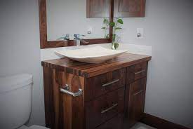 Custom All Walnut Bathroom Vanity By Belak Woodworking Llc Custommade Com