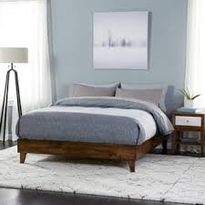 industrial style bedroom furniture. Fine Bedroom Wood Midcentury Platform Style Bed Throughout Industrial Bedroom Furniture R