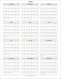 At A Glance Yearly Calendars 2018 Calendars For Advanced Planning Flanders Family Homelife